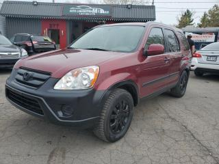 Used 2005 Honda CR-V 2005 HONDA CRV**FINANCEMENT 100% APPROUV for sale in Lemoyne, QC