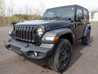 Used 2019 Jeep Wrangler SPORT 4X4 BLUETOOTH ÉCRAN TACTILE CAMÉRA *BAS KM* for sale in Mirabel, QC