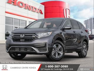 New 2021 Honda CR-V LX REARVIEW CAMERA | APPLE CARPLAY™ & ANDROID AUTO™ | IDLE STOP for sale in Cambridge, ON