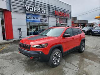 Used 2019 Jeep Cherokee TRAILHAWK ELITE * V6 3.2L TOUT ÉQUIPPÉ! for sale in Val-d'Or, QC