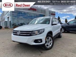 Used 2015 Volkswagen Tiguan Trendline for sale in Red Deer, AB