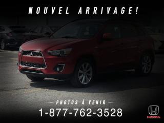Used 2013 Mitsubishi RVR GT + AWD + TOIT + A/C + MAGS + WOW! for sale in St-Basile-le-Grand, QC