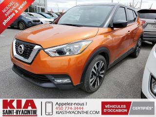 Used 2018 Nissan Kicks SV * CAMÉRA DE RECUL / SIÈGES CHAUFFANTS for sale in St-Hyacinthe, QC