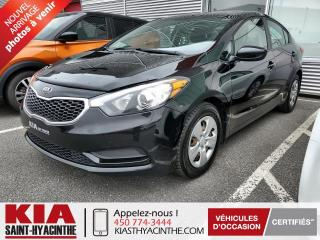 Used 2016 Kia Forte LX ** GR ÉLECTRIQUE / BLUETOOTH for sale in St-Hyacinthe, QC