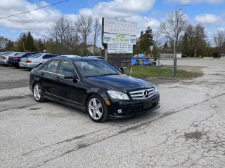 Used 2010 Mercedes-Benz C-Class C 300 4Matic ONLY 78KM for sale in Komoka, ON