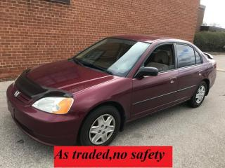 Used 2003 Honda Civic DX-G for sale in Oakville, ON