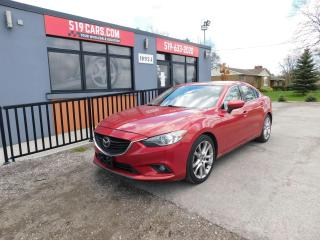 Used 2014 Mazda MAZDA6 Rare Tech Package | Leather | Sunroof | BSM for sale in St. Thomas, ON
