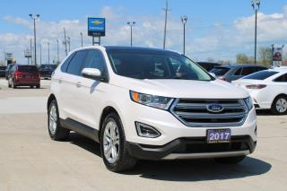 Used 2017 Ford Edge Titanium for sale in Tilbury, ON