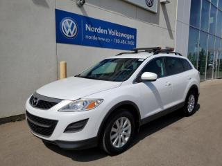 Used 2010 Mazda CX-9 GS AWD - 7 PASS / HTD SEATS / BLUETOOTH / ROOF RACKS! for sale in Edmonton, AB
