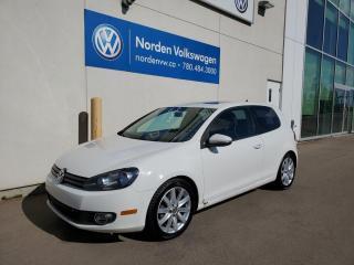 Used 2011 Volkswagen Golf SPORTLINE 5SPD M/T HATCHBACK for sale in Edmonton, AB