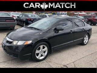 Used 2010 Honda Civic SPORT / SUNROOF / 5 SPEED for sale in Cambridge, ON