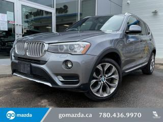 Used 2017 BMW X3 28I -XDRIVE, PANO ROOF, HEATED FRONT AND REAR SEATS, NAV AND MORE for sale in Edmonton, AB