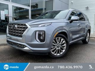 Used 2020 Hyundai PALISADE ULTIMATE - LEATHER, NAV, BLUELINK, 360 CAM, HYUNDAI SAFETY SENSE AND MORE for sale in Edmonton, AB