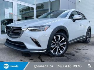 Used 2019 Mazda CX-3 GT - AWD, LEATHER, HEATED SEATS, BLUETOOTH, AND MORE for sale in Edmonton, AB
