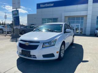 Used 2013 Chevrolet Cruze LT TURBO//HEATEDSEATS/BACKUPCAM/BLUETOOTH for sale in Edmonton, AB