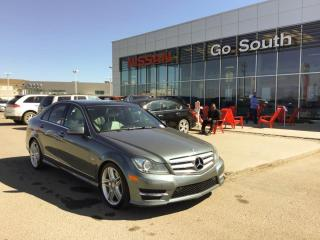 Used 2012 Mercedes-Benz C-Class C 350, 4MATIC, AWD, LEATHER for sale in Edmonton, AB