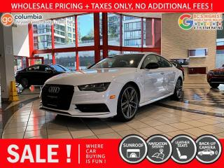 Used 2017 Audi A7 3.0T Technik - Local / One Owner / No Dealer Fees / Nav / Sunroof for sale in Richmond, BC
