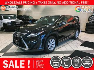 Used 2017 Lexus RX 350 RX350 AWD - No Accident / Local / Leather / Sunroof for sale in Richmond, BC