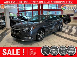 Used 2018 Subaru Legacy Limited - No Accident / Local / Nav / Sunroof for sale in Richmond, BC