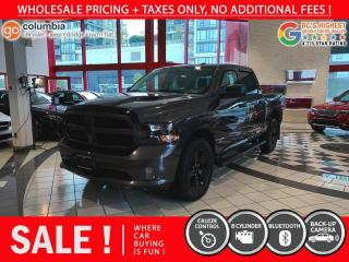 Used 2019 RAM 1500 Classic Express Blackout HEMI - No Accident / Local / One Owner / No Dealer Fees for sale in Richmond, BC