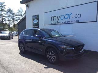 Used 2017 Mazda CX-5 GT LEATHER, SUNROOF, NAV, HEATED SEATS!! WOW!! for sale in Richmond, ON