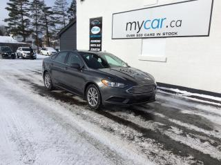 Used 2017 Ford Fusion SE ALLOYS, BACKUP CAM, POWERGROUP, LOW MILEAGE!! for sale in North Bay, ON