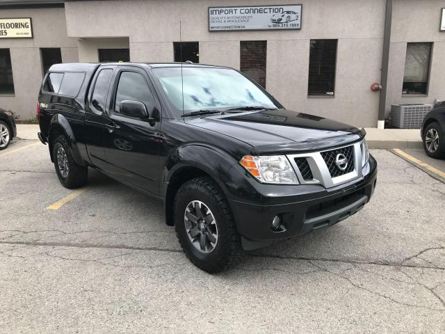 2017 Nissan Frontier 4X4 KING CAB PRO-4X,NAV,REAR CAMERA,6SPD.MANUAL !