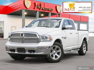 Used 2017 RAM 1500 Laramie C. Start, Sunroof, Nav., 4X4 for sale in Brandon, MB