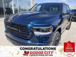 New 2021 RAM 1500 Sport-4WD,V8 Hemi, Nav, WiFi,B/U Camera for sale in Saskatoon, SK