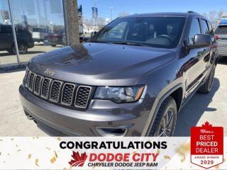 Used 2017 Jeep Grand Cherokee Laredo 75th Anniversary-4WD,Remote Start for sale in Saskatoon, SK