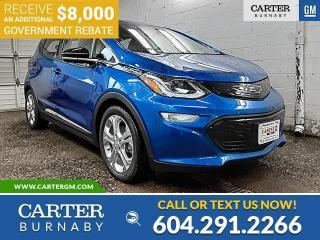 New 2021 Chevrolet Bolt EV LT *PLUS $8,000 GOV. REBATE!* for sale in Burnaby, BC