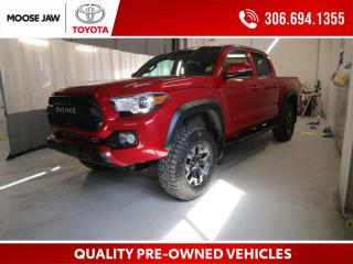 Used 2018 Toyota Tacoma TRD Off Road **COME WITH TRD PRO RIM AND TIRES AS WELL**** for sale in Moose Jaw, SK