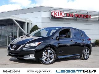 Used 2019 Nissan Leaf SV / Upto 240 KMs Range/Blind Spot/Navigation/Heated front and rear seats/Camera for sale in Burlington, ON