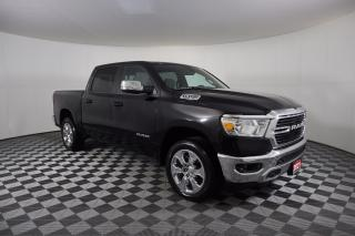 Used 2021 RAM 1500 Big Horn CLEAN CARFAX | CREW CAB | 5.7L HEMI V8 | 4X4 | HEATED SEATS & WHEEL for sale in Huntsville, ON