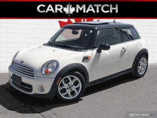 Used 2013 MINI Cooper LEATHER / ROOF / AUTO / 138,038 KM for sale in Cambridge, ON