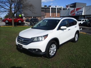 Used 2012 Honda CR-V Touring ~ NAV. ~ LEATHER ~ REAR CAM ~ WINTER TIRES for sale in Toronto, ON