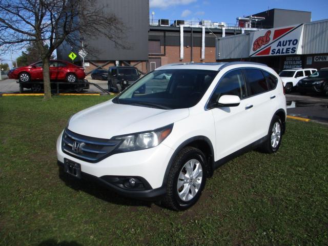 2012 Honda CR-V Touring ~ NAV. ~ LEATHER ~ REAR CAM ~ WINTER TIRES