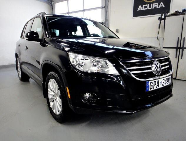 2011 Volkswagen Tiguan AWD,PANO ROOF,LEATHER,HIGH LINE,0 CLAIM