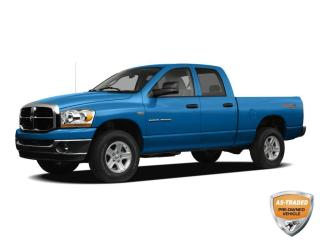 Used 2008 Dodge Ram 1500 ST/SXT SOLD AS TRADED, YOU CERTIFY, YOU SAVE!!! 5.7L V8 HEMI!!! 4WD!!! HEATED FOLD AWAY MIRRORS!!! for sale in Barrie, ON