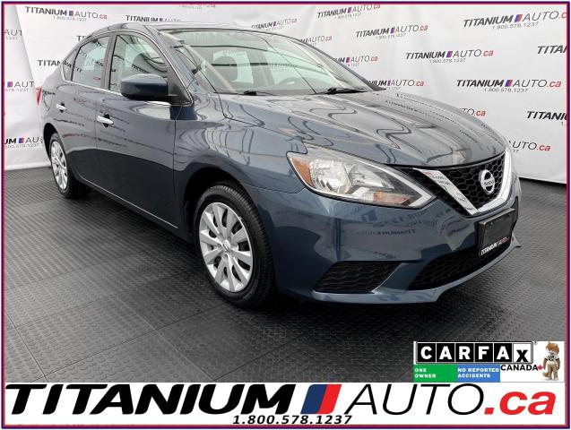 2017 Nissan Sentra SV+Camera+Heated Seats+Remote Start+Smart Key+XM