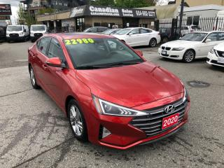 Used 2020 Hyundai Elantra Preferred w/Sun & Safety Package 2.0L 147HP CVT for sale in Langley, BC