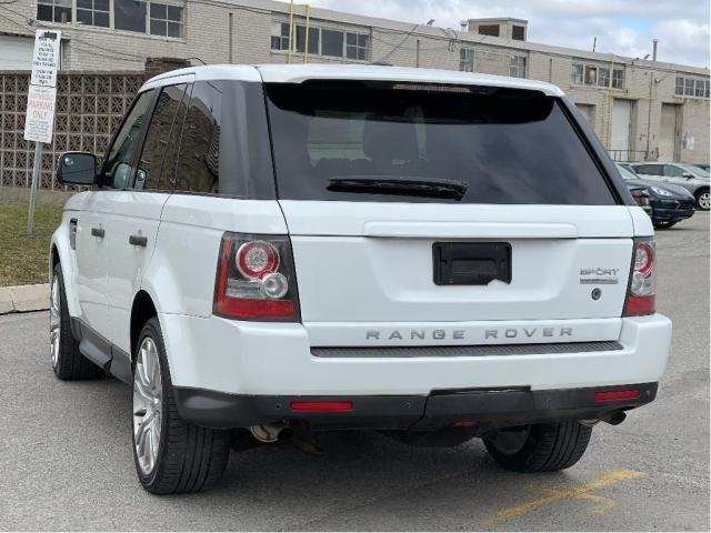 2012 Land Rover Range Rover Sport Luxury  Navigation /Sunroof /Camera Photo6