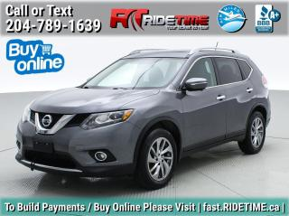 Used 2014 Nissan Rogue SL for sale in Winnipeg, MB
