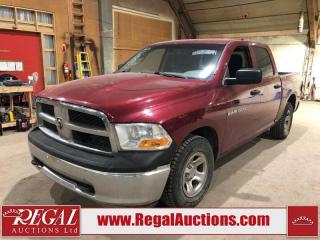 Used 2012 RAM 1500 ST CREW CAB SWB for sale in Calgary, AB