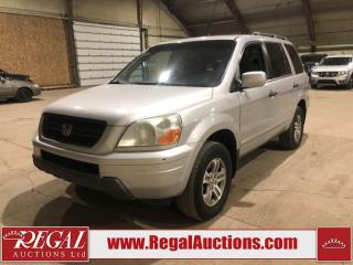 Used 2003 Honda PILOT EX 4D UTILITY for sale in Calgary, AB