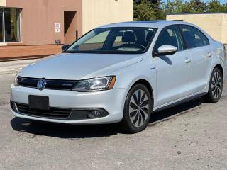 Used 2013 Volkswagen Jetta Hybrid  Executive  Navigation /Leather /Sunroof for sale in North York, ON