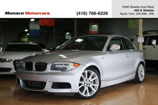 Used 2012 BMW 1 Series 135i - LOW KMS|SUNROOF|PARKING SENSORS|HEATED SEAT for sale in North York, ON