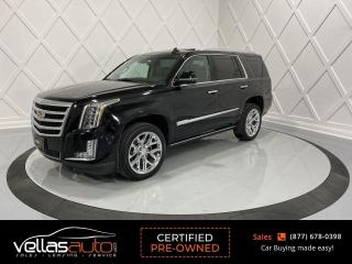 Used 2017 Cadillac Escalade Premium Luxury PREMIUM LUXURY| REAR ENTERTAINMENT| P/BOARDS for sale in Vaughan, ON