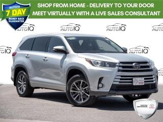 Used 2018 Toyota Highlander XLE Toyota Quality Toyota Dependability For Your Family for sale in Welland, ON