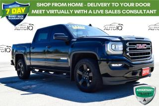 Used 2018 GMC Sierra 1500 SLE BOUGHT/SERVICED HERE for sale in Grimsby, ON
